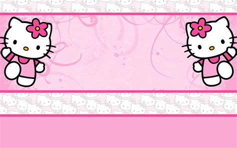 template powerpoint hello kitty wallpapers de hello kitty todo hello kitty