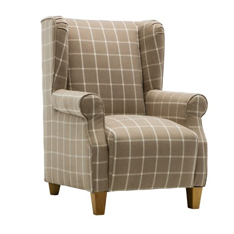 check fabric armchair check fabric armchair 28 images bonsoni pyramid fabric