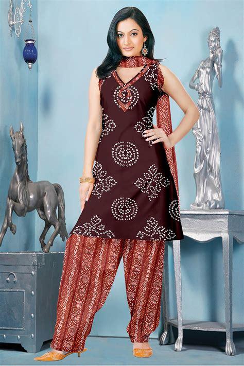 dress pattern of gujarat light orange color wholesaler manufacturer exporters