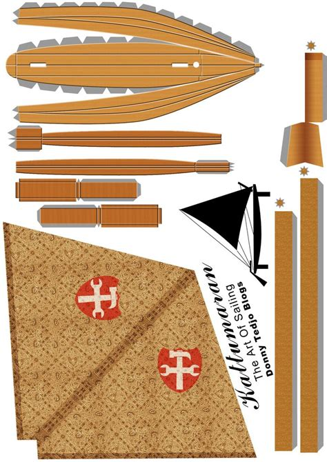 Papercraft Designs - papercraft models boat design net gallery interessant