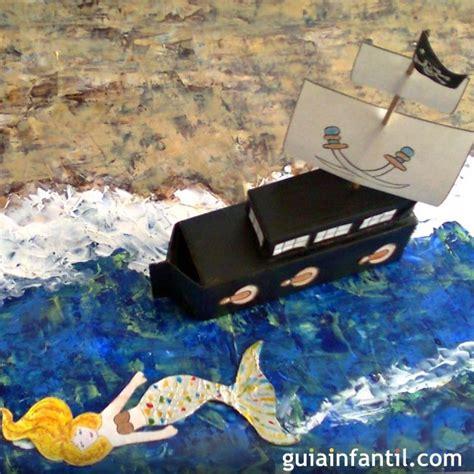 barco pirata hacer barco pirata manualidades de reciclaje para ni 241 os