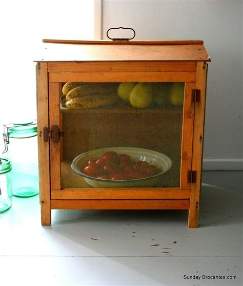 Pie Keeper Cabinet by Vintage Garde Manger Cheese And Fruit Keeper