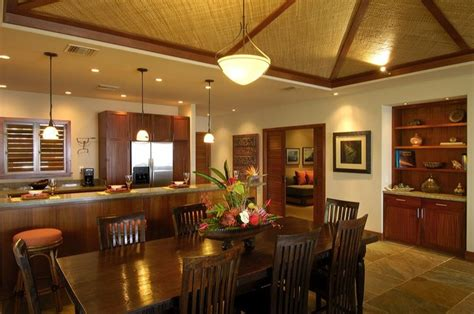 modern hawaii beach cottage traditional dining room hawaii  fine design interiors