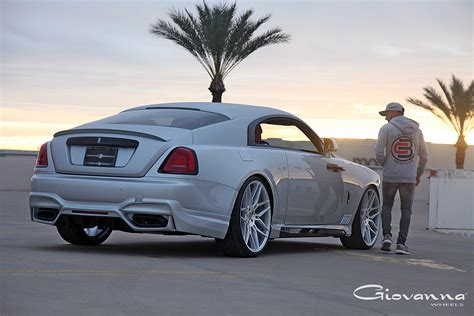 roll royce wraith on rims rolls royce wraith bogota giovanna luxury wheels