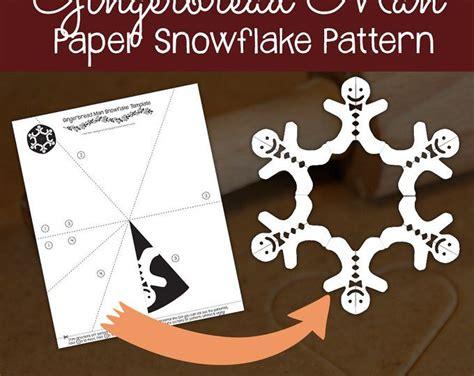 deer snowflake printable template reindeer paper snowflake pattern pdf digital download