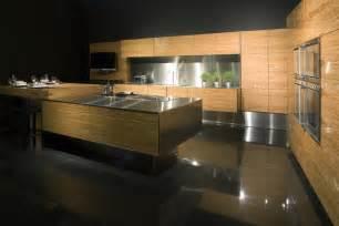 cuisine bois moderne chaleureuse design
