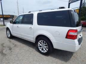 2015 ford expedition el limited white for sale on