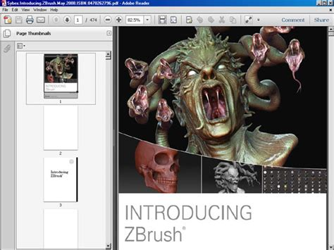 tutorial zbrush pdf introducing zbrush pdf ebook file software software tutorial