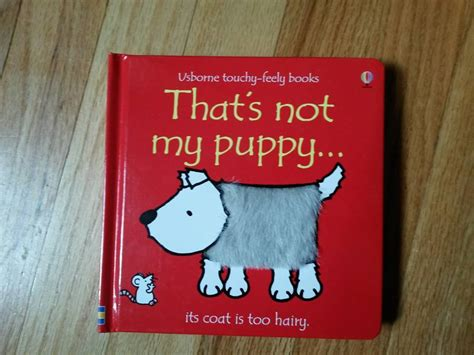 my puppy is not that s not my puppy usborne book bin