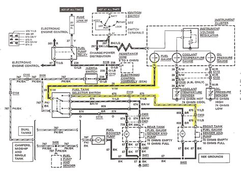 boat fuel sending unit diagram wiring diagrams repair