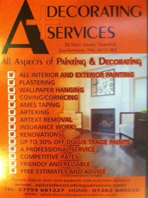 Decorating Services by A Decorating Services A Decorating Services