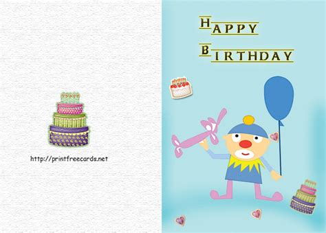 printable birthday cards free no download download birthday cards to print