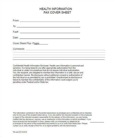 20 fax cover sheet templates free premium pdf creative template