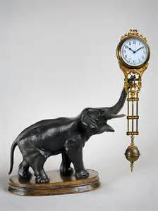 French Country Wall Clock - antique german elephant mystery clock for sale in perth wa