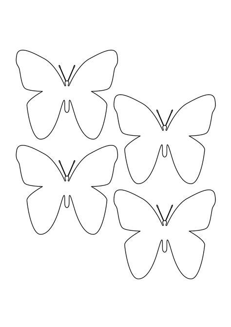 forme fiori da ritagliare farfalle di carta per decorare pareti e oggetti creare