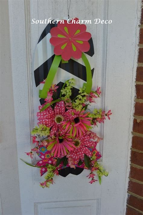 Flip Flop Wall Decor by Summer Flip Flop Floral Wall Decor Pool Patio
