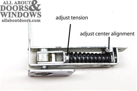 how to adjust swinging door hinge guide to installing phillips brand double acting floor