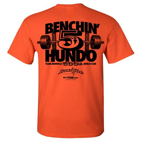 bench press this jesus t shirt 500 pound bench press club t shirt ironville clothing