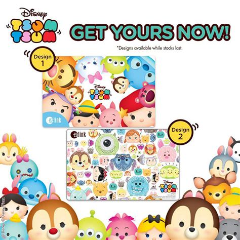 Ez Shop Gift Card - ez link releases new collection of tsum tsum ez link cards in singapore