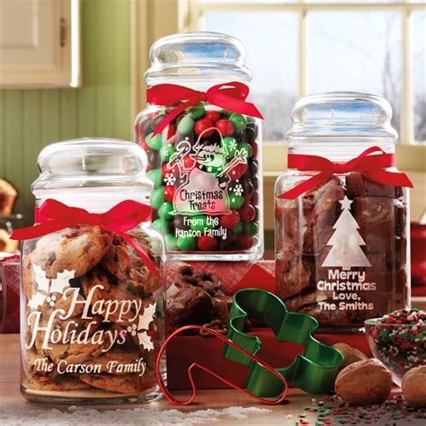 personalized christmas treat jars set of 3 walmart com