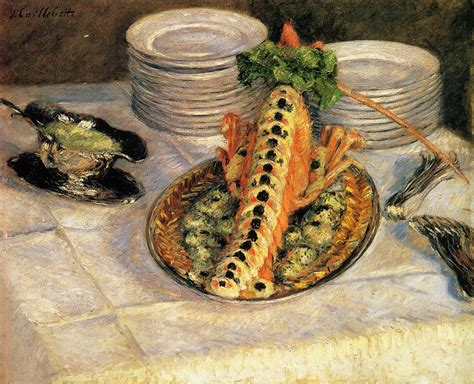 gustave cuisine still with crayfish 1880 1882 gustave