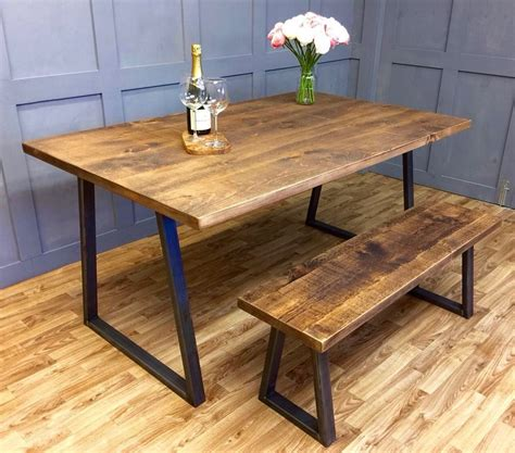 60 Diy Rustic Farmhouse Kitchen Industrial Reclaimed Dining Table Rustic Solid Antique