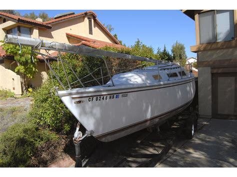 catalina 25 swing keel 1984 catalina swing keel 25 sailboat for sale in california