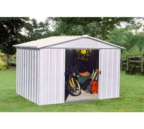 Garden Sheds Argos by Buy Yardmaster Apex Metal Garden Shed 10 X 8ft At Argos Co Uk Your Shop For Sheds