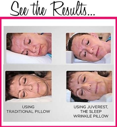 A Wrinkle Fighting Pillow by Juverest 174 The Sleep Wrinkle Pillow Prevent Wrinkles