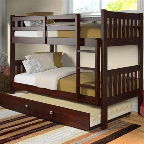 bunk bed with trundle and stairs toddler bunk beds with stairs and trundle loft bed