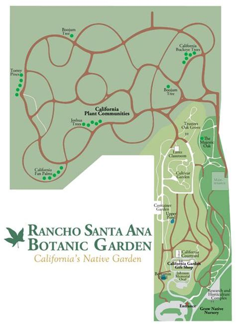 Rancho Santa Botanic Garden 17 Best Images About Botanical Gardens On Pinterest