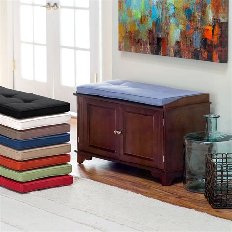 colorful indoor benches comfortable bench pads indoor homesfeed