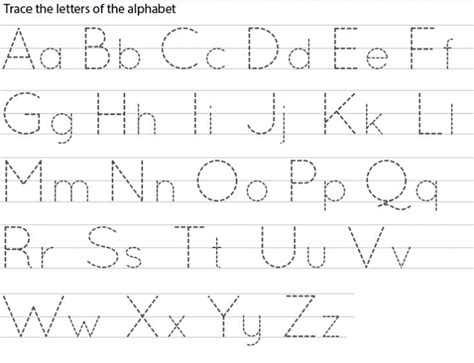 printable tracing letters toddlers printable tracing letters worksheets template for toddlers