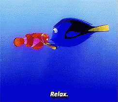dory relax gif dory relax findingnemo discover amp share gifs