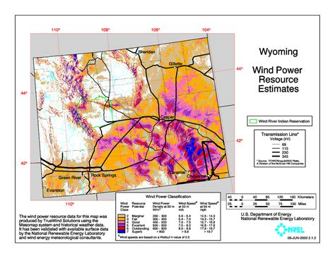 wind power map usa chokecherry and madre wind energy project