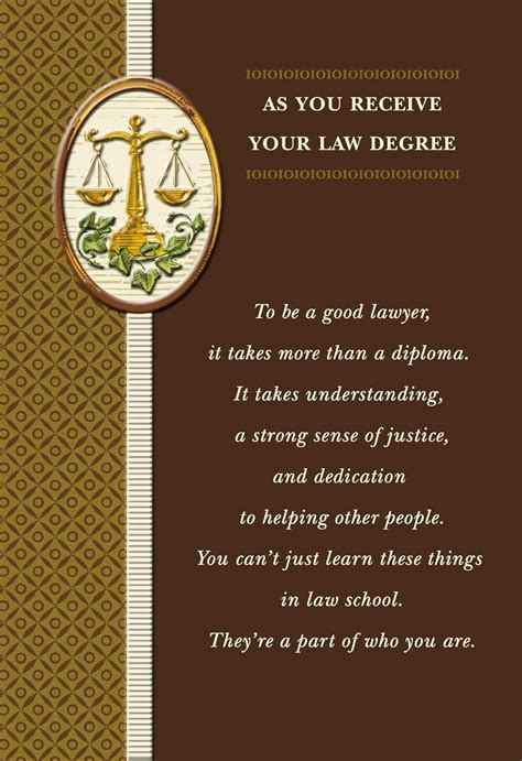 Law Degree Graduation Card   Greeting Cards   Hallmark