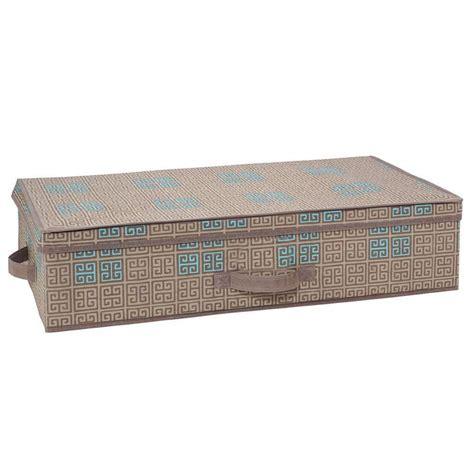 home depot under bed storage seda france under the bed polypropylene storage box in