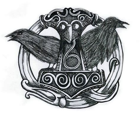 hugin y munin by aliciasanchez on deviantart
