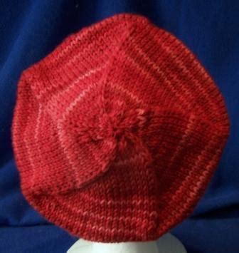 beret knitting pattern easy free free knitting pattern for beret simple free