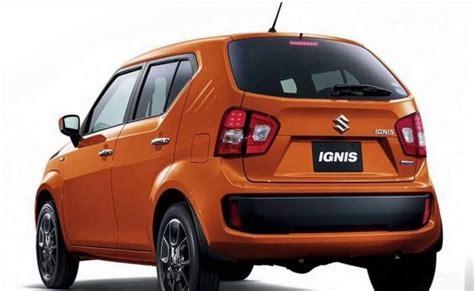 maruti car exchange maruti suzuki ignis price in india gst rates images