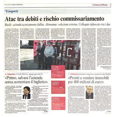 ufficio assunzioni comune di roma tg roma talenti atac accusa di abuso di ufficio per gli