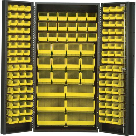 industrial storage cabinets with bins quantum storage cabinet with 132 bins 36in x 24in x