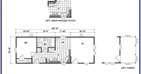 14x40 floor plans 14x40 cabin floor plans tiny house