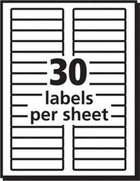 avery 30 label template image 2