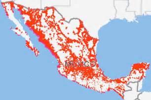 Verizon Mexico Coverage Map verizon wireless coverage in mexico map