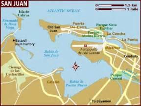 San Juan Puerto Rico Map by Map San Juan Pr