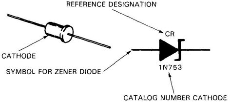 zener diode bis symbol electronics symbols components and references