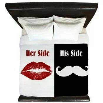 her side of the bed his side her side comforter set his hers comforter