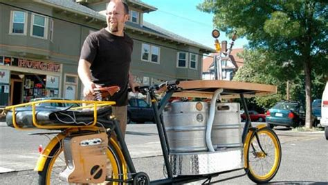 bike brewery pedal powered suds on a bike lovetomorrowtoday