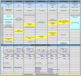 Togo Calendrier 2018 Disney Vacation Planning Spreadsheet